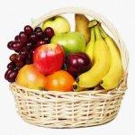7кг Кошница с плодове. Кошницата не е включена в цената