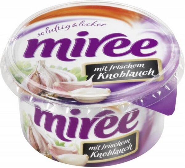 Крема сирене Miree с чесън 150гр
