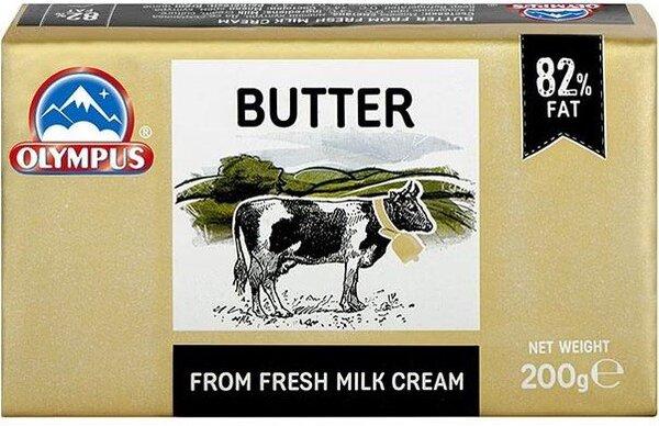 Краве масло 82 % Olympus 200 г