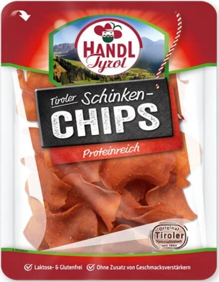 Протеинов чипс от месо Handl Tyrol шунка 40 г