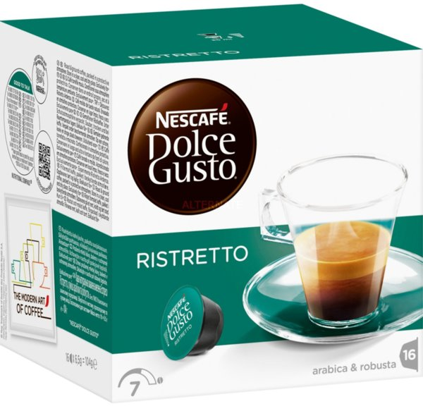 Кафе капсули Nescafe Dolce Gusto Espresso Ristretto green 16бр