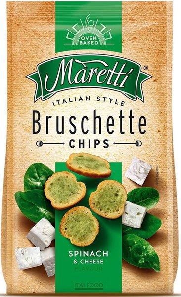Брускети Maretti със спанак и сирене 70гр
