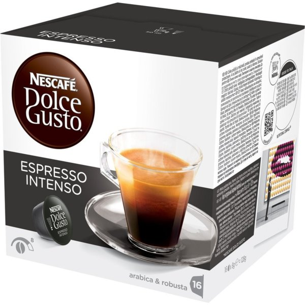 NESCAFE Dolce Gusto Espresso Intenso кафе капсули, 16 напитки