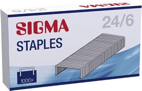 Телчета 24/6 Sigma 10x1000 бр