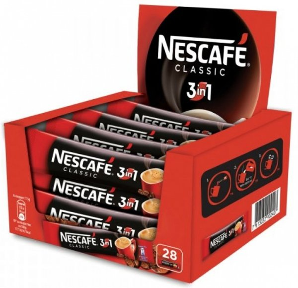 NESCAFE 3в1 Classic 28бр x 17.5гр
