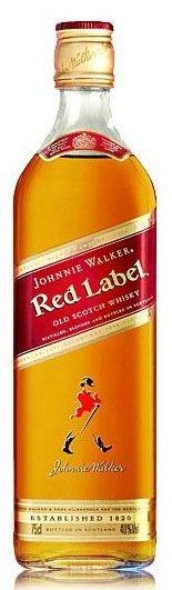 Уиски Johnnie Walker red label 0,7л