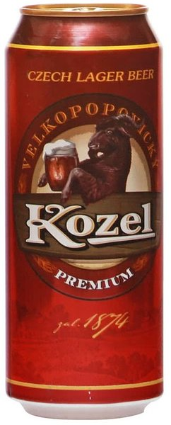 Бира Велкопоповицки Kozel Premium 500мл кен