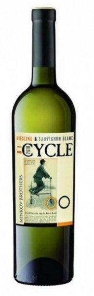 Бяло вино совиньон блан и ризлинг Cycle 0,75л