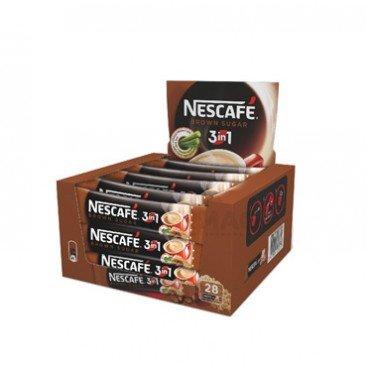 NESCAFE 3в1 с кафява захар 28x18гр