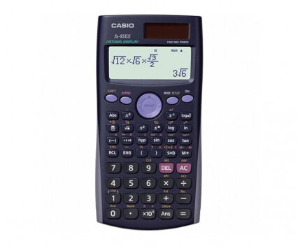 Калкулатор Casio FX 85ES, научен, черен