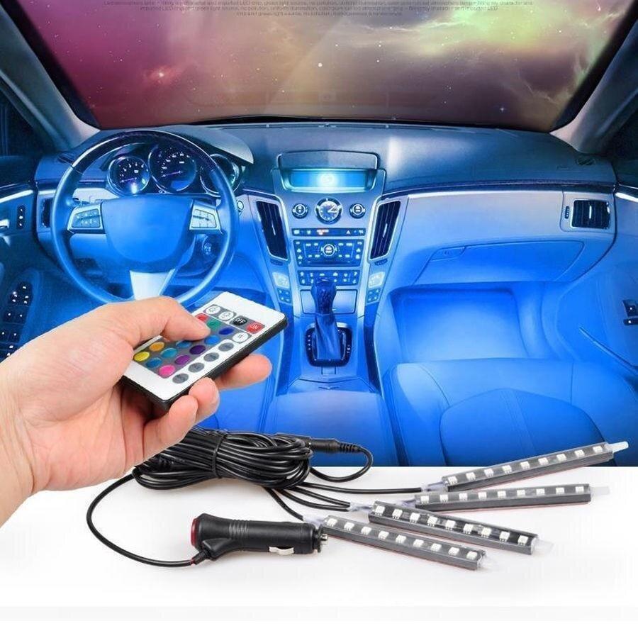 Авто интериорни LED светлини