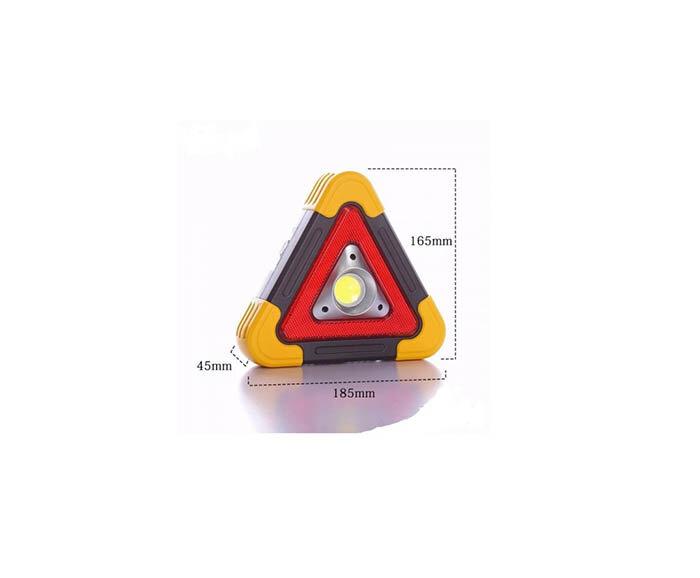 Авариен LED триъгълник – 3 в 1
