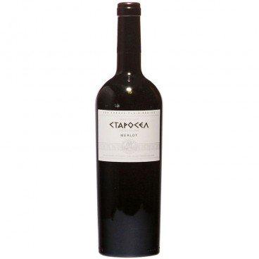 Червено вино мерло Старосел 0,75л