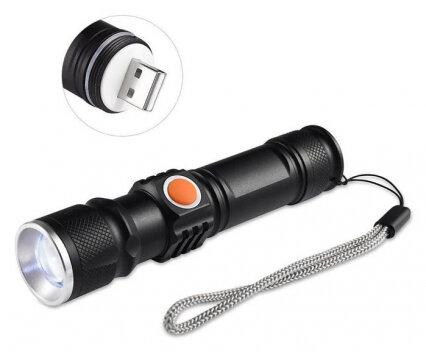 USB акумулаторен LED фенер