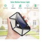LED соларна лампа със сензор за движение