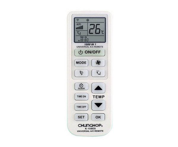 Универсално дистанционно за климатик с таймер-програматор
