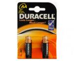 Алкални батерии Duracell Basic AA 2 бр