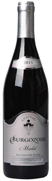 Червено вино мерло Chateau Burgozone 2014 0,75л