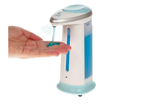 Автоматичен диспенсер за сапун / дезинфектант