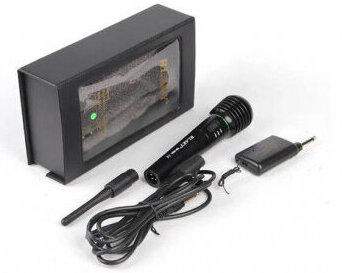 Микрофон с кабел 2m/безжичен