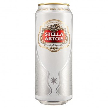 Бира stella artois кен 0,5л