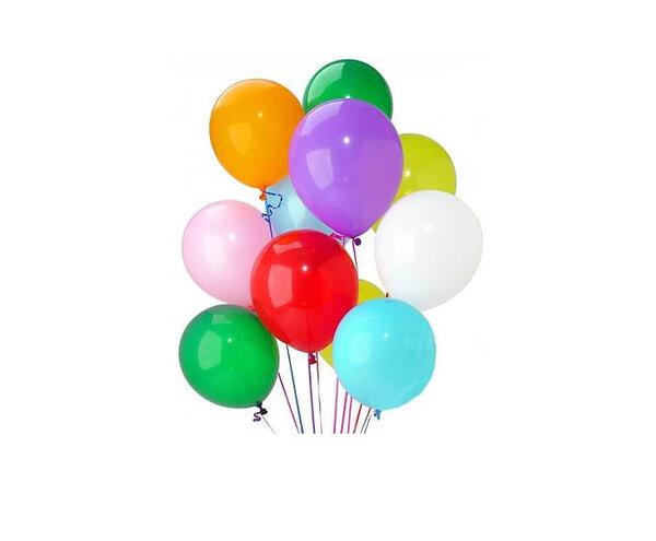 Парти балони микс цветове - 25 бр.