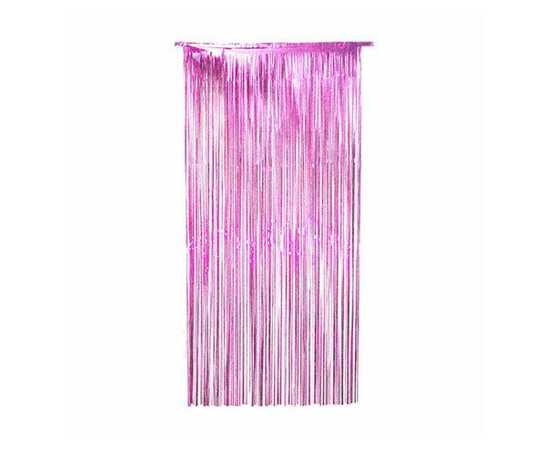 Парти завеса цвят розов/pink