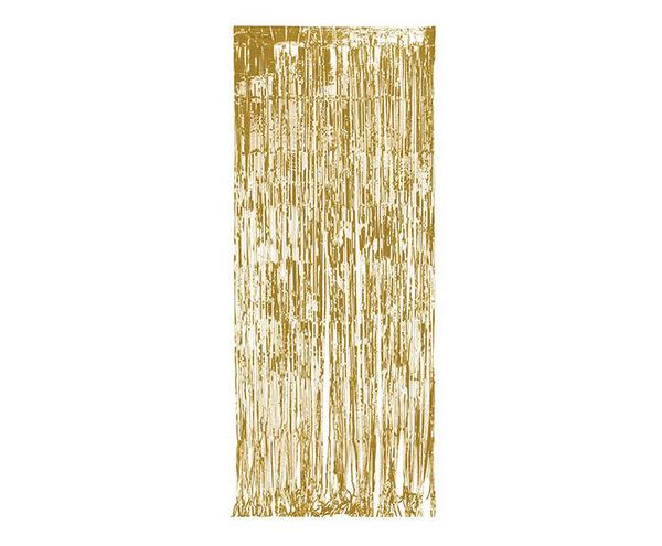 Парти завеса цвят златист/gold