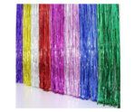 Парти завеса цвят сепия/sephia