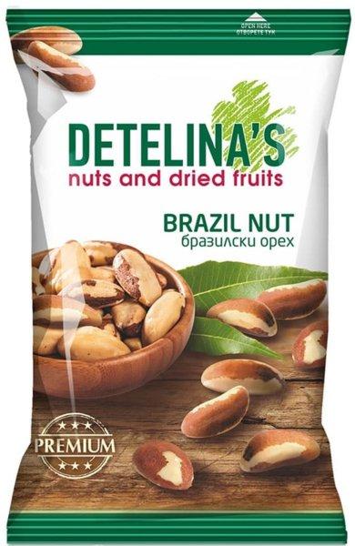 Сурови ядки Бразилски орех Детелина 60гр