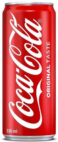 Coca-Cola кен 330мл