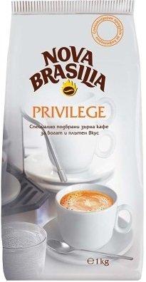 Кафе Nova Brasilia Privilege на зърна 1кг