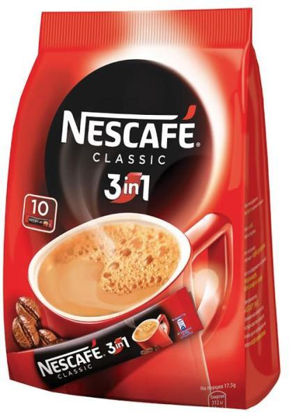 NESCAFE CLASSIC 3 В1 10БР Х 17.5ГР