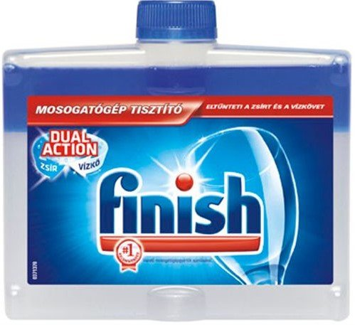 Препарат за почистване на съдомиялна машина: Finish Cleaner 250мл