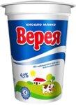 Кисело мляко Верея 4.5 % 400 г