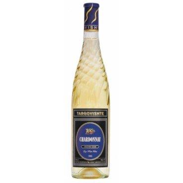 Бяло вино търговище шардоне 0,75л