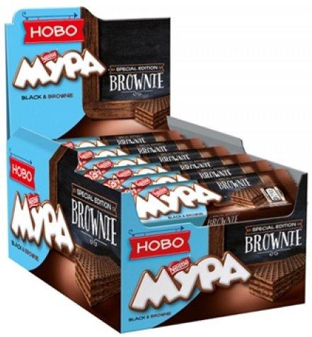 Вафла Мура Black&Brownie 30брx37гр - кутия