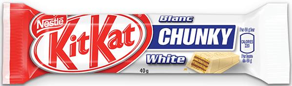 Шоколадов десерт KIT KAT Chunky бял 40гр