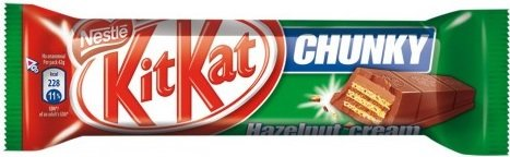 Шоколадов десерт KIT KAT лешников крем 42гр