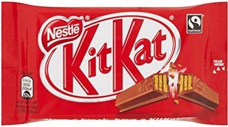 Шоколадов десерт KIT KAT Chunky 4 Fingers 41,5гр