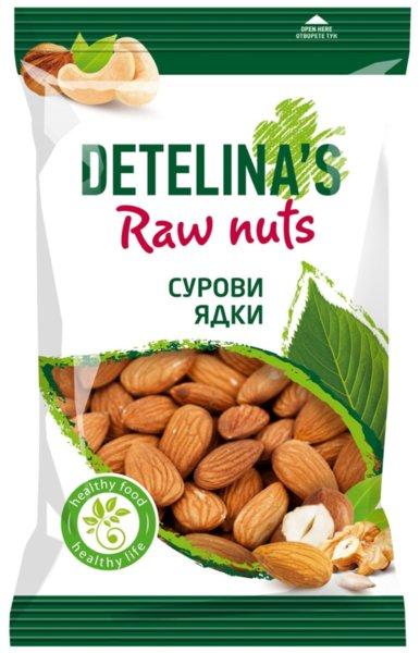Сурови бадеми Детелина 200гр
