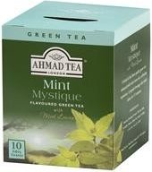 Зелен чай с мента Ahmad Tea Mint Mystique 10бр х 2гр