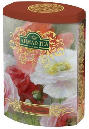 Черен чай Английска закуска Ahmad Tea Fine Collection 100гр - метална кутия