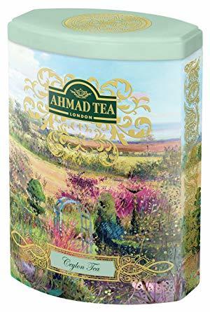 Цейлонски черен чай Ahmad Tea Fine Collection 100гр - метална кутия