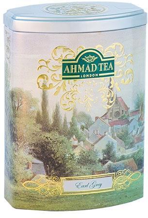 Черен чай Earl Grey Ahmad Tea Fine Collection 100гр - метална кутия