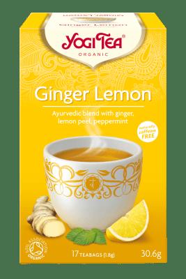 Био чай Джинджифил и лимон Yogi Tea 17 пак.