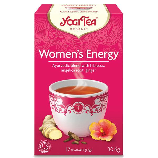 Био чай Женска енергия Yogi Tea 17 пак.