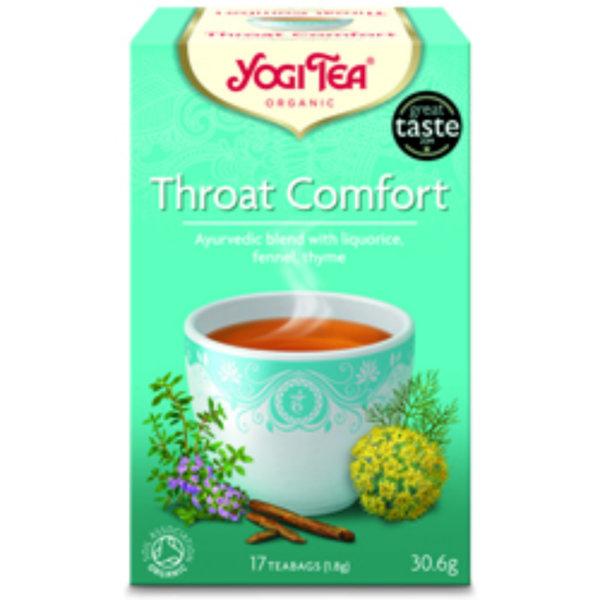 Био чай за гърло Yogi Tea 17 пак.