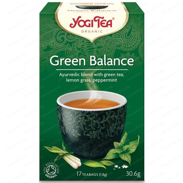 Био чай Зелен баланс Yogi Tea 17 пак.