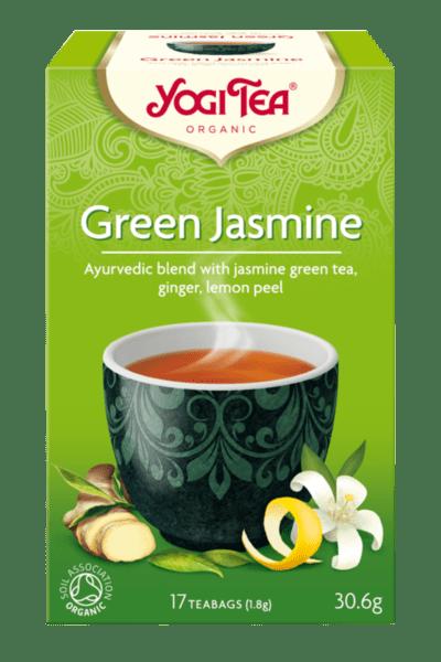 Био сутрешен чай Зелен жасмин Yogi Tea 17 пак.